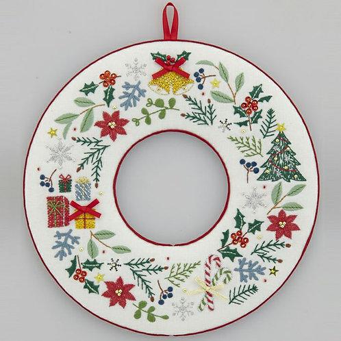 平野明子 Christmas Wreath