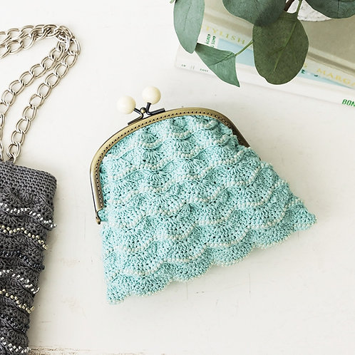 Frill Beads Pouch (Material Set)