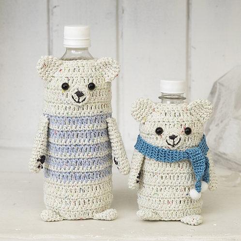 Polar Bear Bottle Holder (Material Set)