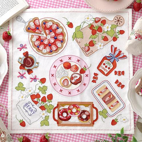 Stitch Cloth <Strawberry Party>