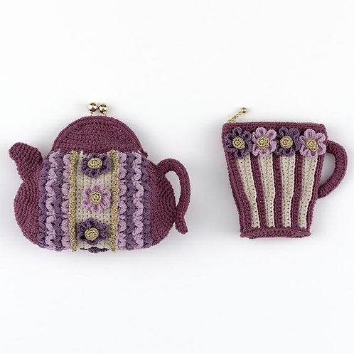 Tea Time Flower Pouch Set (Material Set)