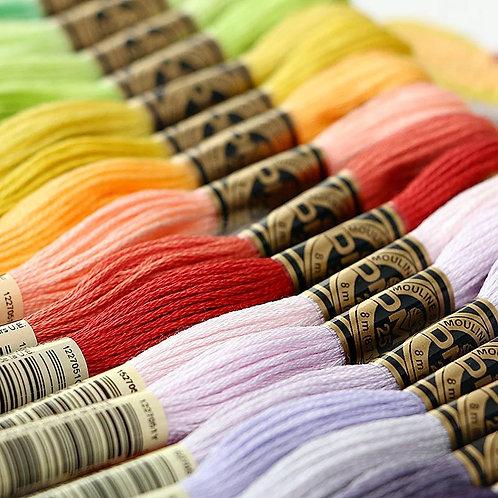 DMC art 117 thread full set 500 colors
