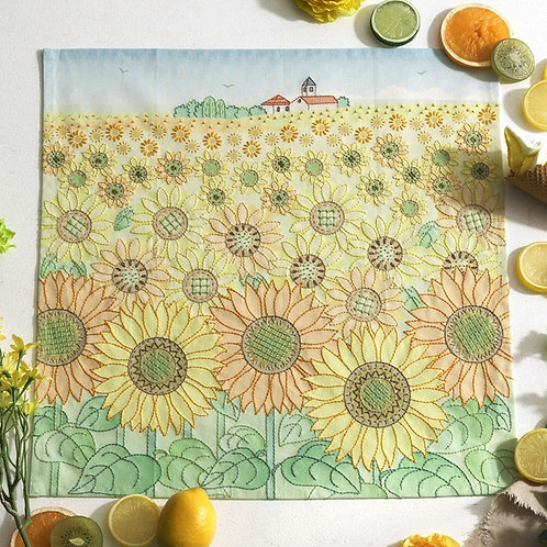 Stitch Cloth <Sunflower Field>