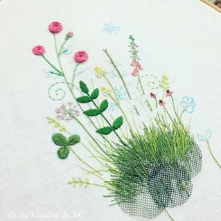 「青木和子」老師的刺繡