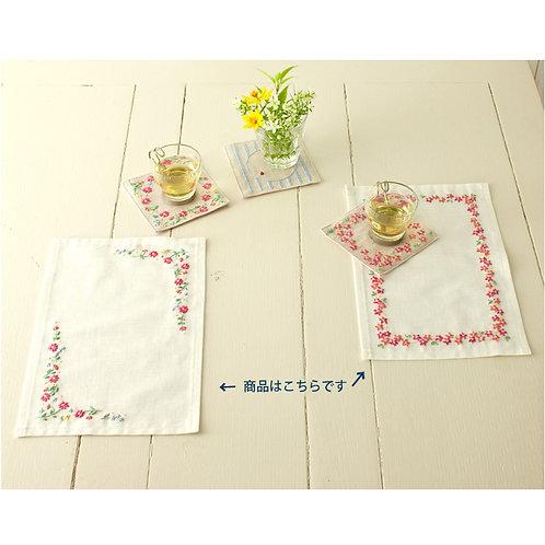 Small Flower Tea Mat