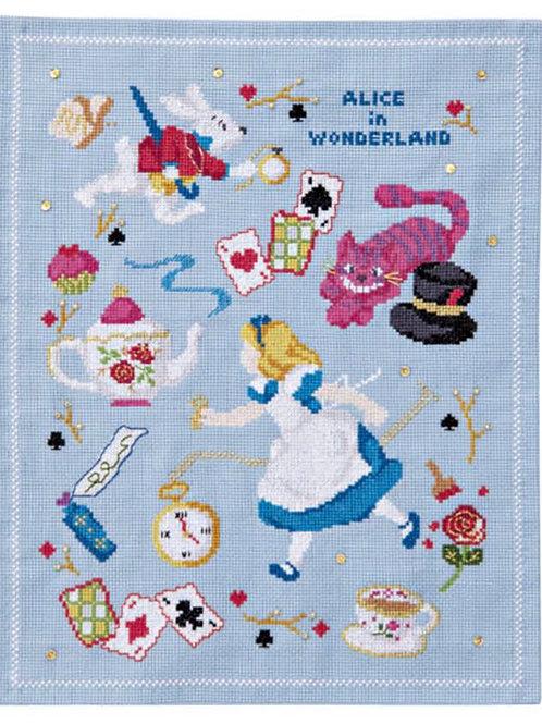 Cross Stitch Tapestry <Alice in Wonderland>