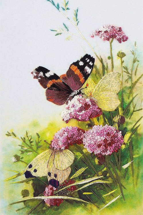 Butterflies Embroidery
