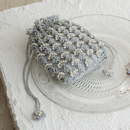 Shiny bead pouch (Material set)