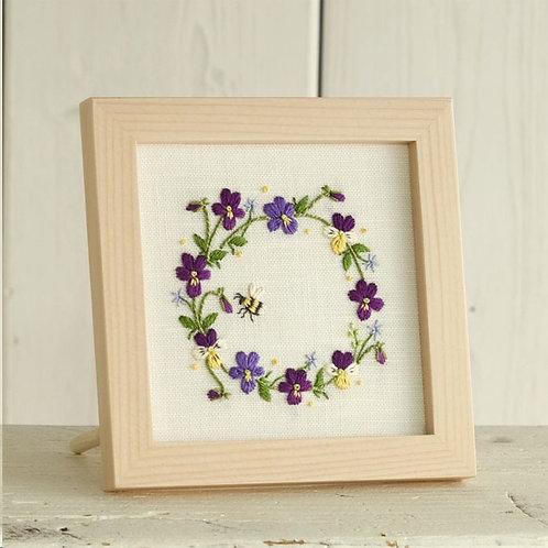 Mini Frame <Purple Viola>