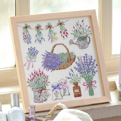 Cross Stitch Frame <Lavender>