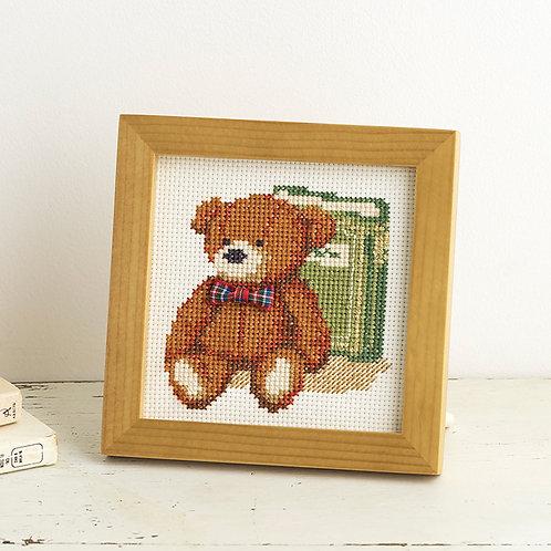 Cross Stitch Mini Frame <Bear>