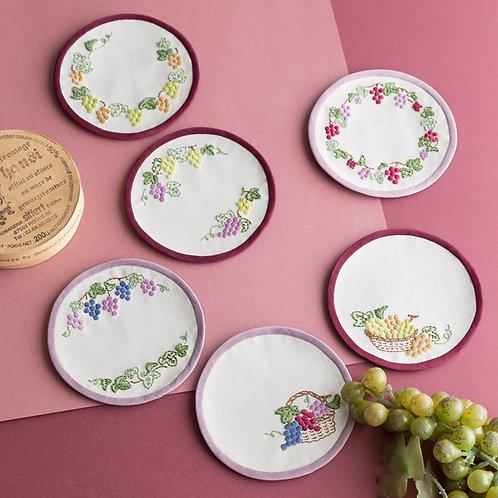 Coasters <Grapes>