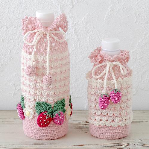 Strawberry Bottle Holder (Material Set)
