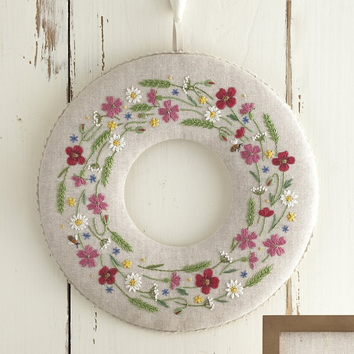 Wreath <Flowers of Cotswolds>