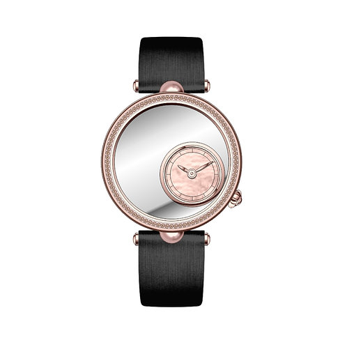 Champagne Diamond Embroidery Watch