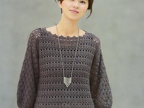 美しいかぎ針編+棒針編 秋冬 (Let's knit series)