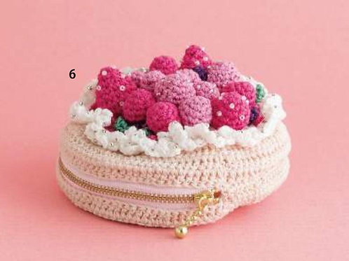 Strawberry Pouch (Material Set)