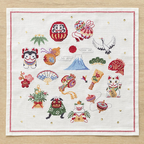 Cross Stitch Tapestry <New Year>