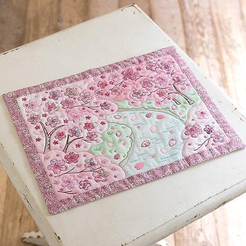 Appliqué Tapestry <Sakura City>