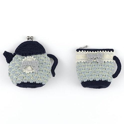Tea Time Ribbon Pouch Set (Material Set)