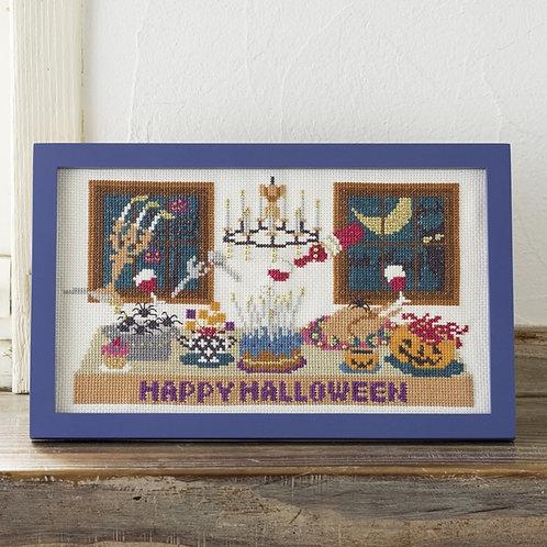 Cross Stitch Frame <Halloween Dining>