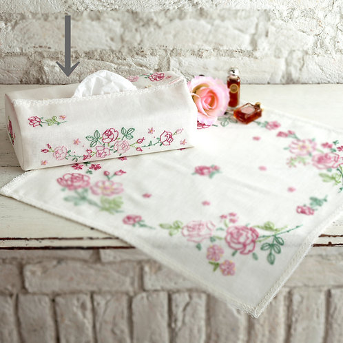 Rose Tissue Paper Cover