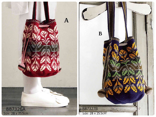 Crochet Bag Material Kit 26A & 27B
