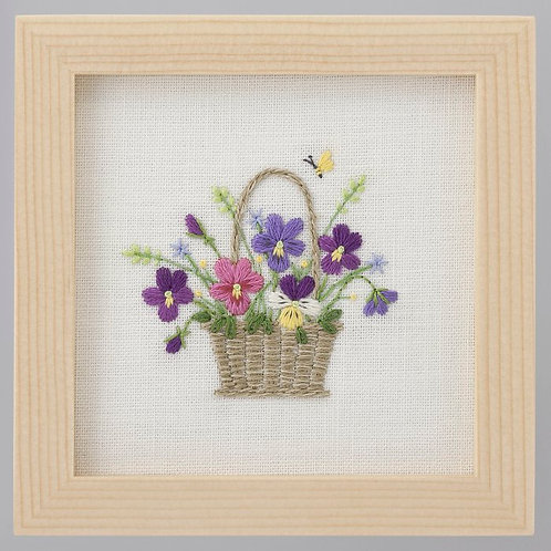 Mini Frame <Viola Basket>
