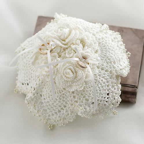 Crochet Ring Pillow (Material set)