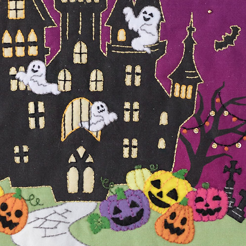 Appliqué Tapestry <Halloween Night>