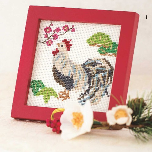 Cross Stitch Frame <Rooster>