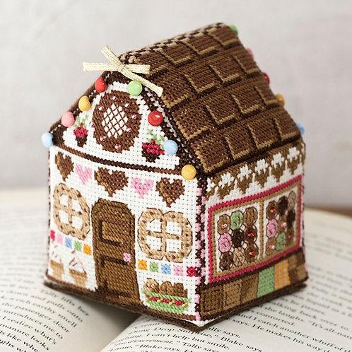 Cross Stitch House <Chocolate>