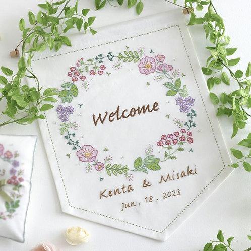 Welcome Flag <Garden>