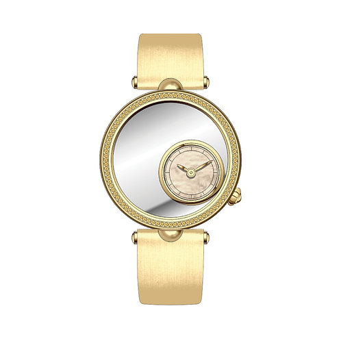 Golden Diamond Embroidery Watch