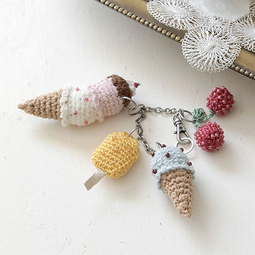 Ice Cream Charm (Material Set)