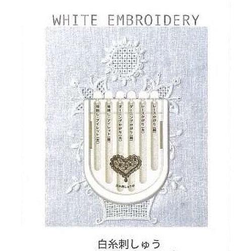White Embroidery Needles