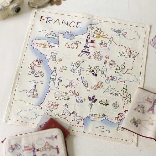 Stitch Cloth <French Map>