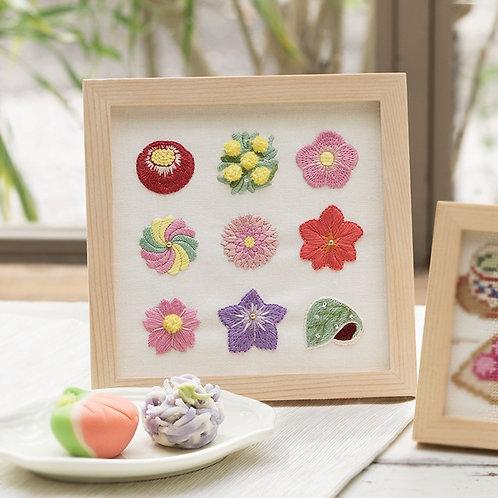 Cross Stitch Frame <Tea Cakes>