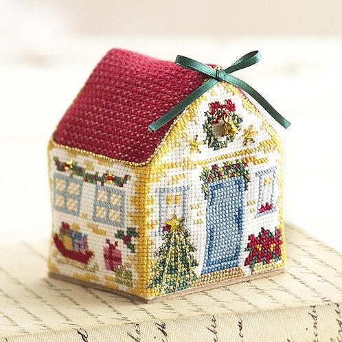 Cross Stitch House <Christmas>