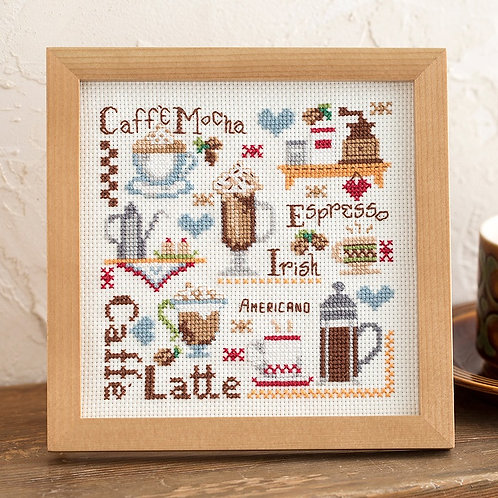 Cross Stitch Frame <Coffee>