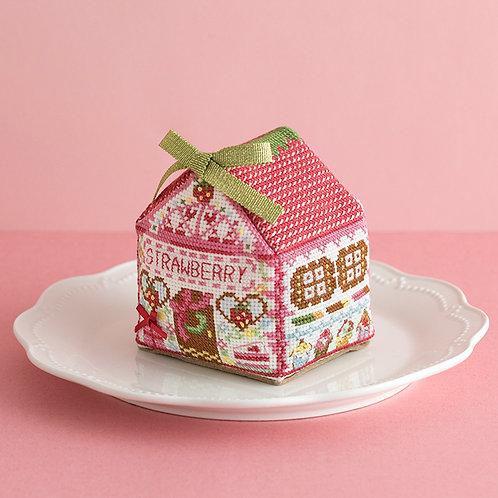 Strawberry Cross Stitch House