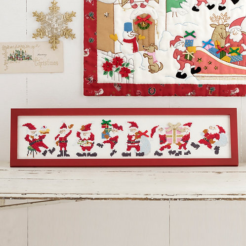 Cross Stitch Frame <Santa Claus>