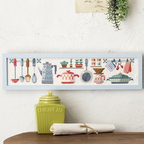 Cross Stitch Frame <My Kitchen>