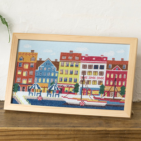 Scandinavia Cross Stitch Frame