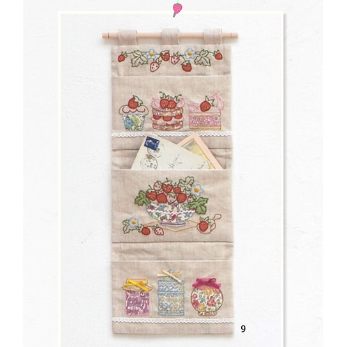 Strawberry Letter Bag