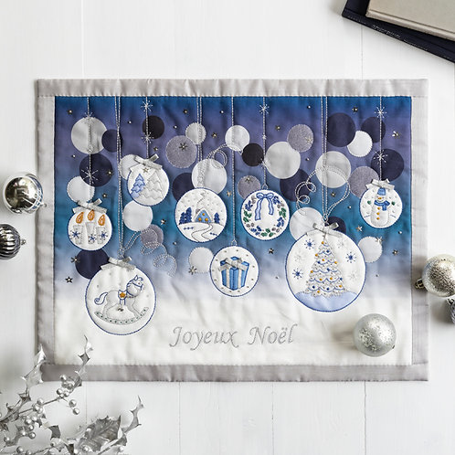 Appliqué Tapestry <Glass Ball>