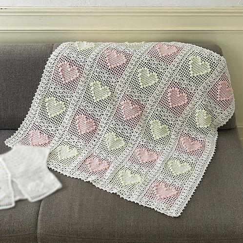 Heart Blanket (Material set)