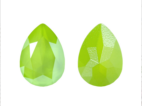 Swarovski 4320 Crystal Lime14х10mm (4 pcs)