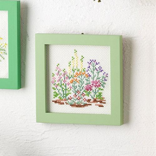 Cross Stitch Mini Frame <Herb>