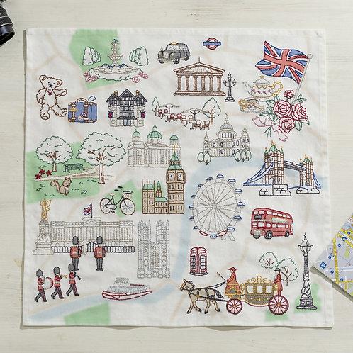 Stitch Cloth <London Map>